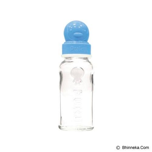 PUKU Botol Susu Kaca 140cc [P10106] - Blue - Botol Susu